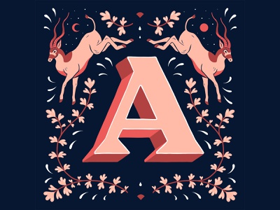 A - 36 Days of Type 2021 graphic design lettering artist lettering challenge customlettering handlettering illustration type typography lettering art 36daysoftype21 36daysoftype lettering