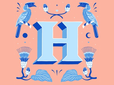 H - 36 Days of Type 2021 type lettering artist handlettering illustration 36daysoftype 36daysoftype21 typography lettering art lettering customlettering