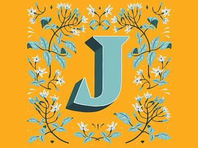 J - 36 Days of Type graphic design lettering art handlettering lettering artist 36daysoftype 36daysoftype21 typography lettering illustration customlettering