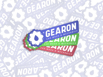 GEARON® Stickers