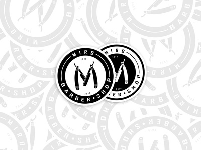 Miro's Barber Shop® Stickers
