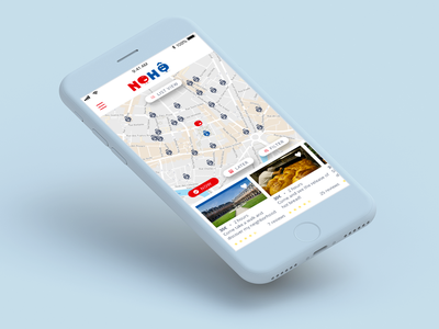 Nohô - App iOS and Android brand and identity logo design ui  ux android app ios app