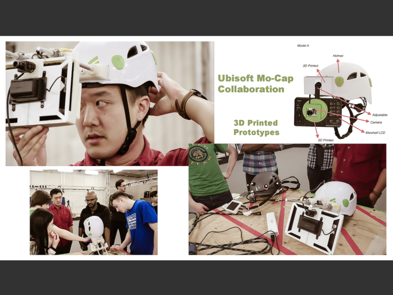 Ubisoft Collaboration wearable tech graphic  design 3d printing