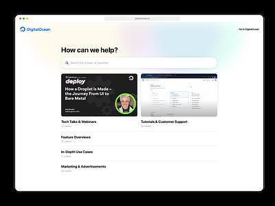 Showcase Knowledge Base knowledge base web app saas website clean ux web ui