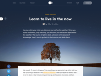 Meditation app blog post