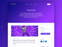 Tapcore Blog List