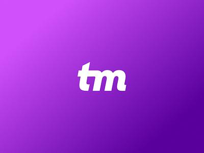 True Magic ✨ branding lettering letter symbol gradient clean simple minimal logo mark mark logo