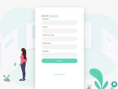 Registration concept