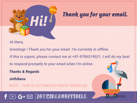 Auto Reply - Email