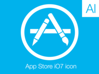App Store iOS7 Dribbble