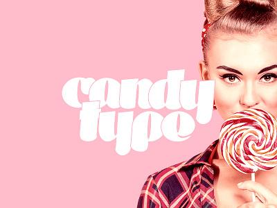 Candytype Display displayfont glyphs typography type