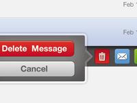 delete popup for iPad