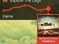 Timeline + screenshots