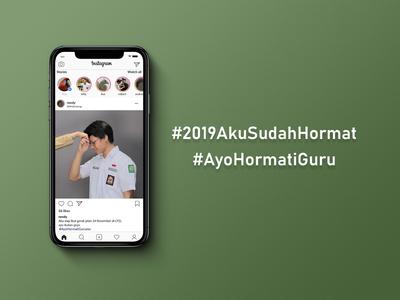 Sosial Campaign for #2109AkuSudahHormat