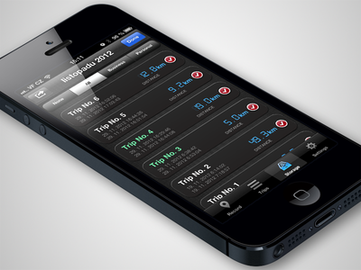 TripStorage iOS app