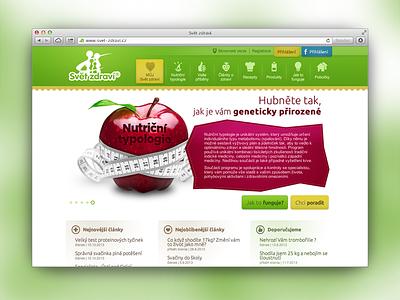 Svet zdravi web health design