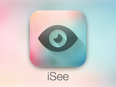 iSee icon ios iphone ipad app