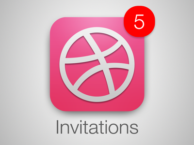 Dribbble invitations invitation invitations invites player prospect dribbble draft icon badge dribbblegiveaway