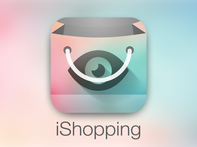iShopping icon ipad ios app icon