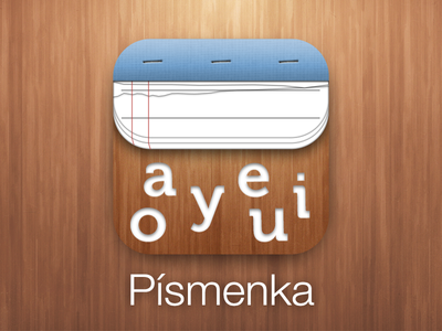 Pismenka.app icon icon app ipad ios