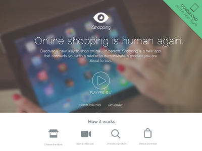 ishoppingapp.com homepage app apps shopping web