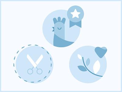 Little icons set! illustration icon design