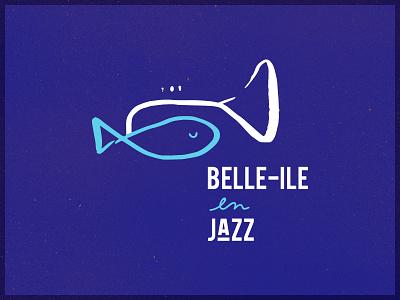 Belle-Île en Jazz logo jazz festival