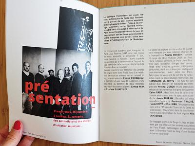 Print - detail booklet graphic design print