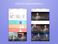 Meditation App - Rejected Design
