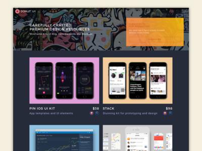 #WeekendHack |  Landing web design - Hero image exploration