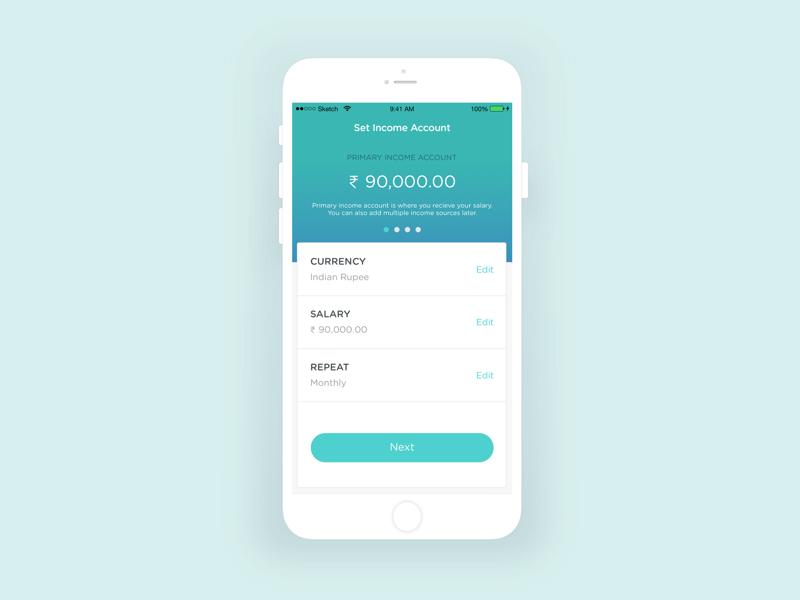 Exploration for a fintech mobile app personal finance wallet app ui design fintech ui ux app mobile finance