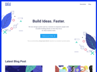 Landing page explorations