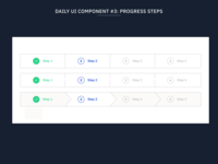 Daily UI Component #3: Progress Steps