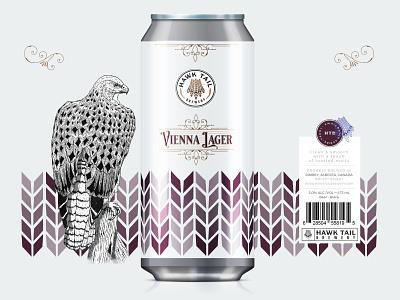 VIENNA Lager - HTB Can Design packagingpro packaging design packaging beer label beer branding craft craft beer illustration brand identity typography design branding