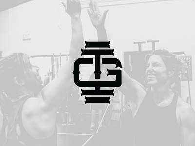 Gun It Inc.   Monogram gym logo gym crossfit logo design graphic design g monogram logo brand identity design branding