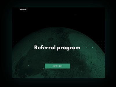 Referral program for crypto exchange