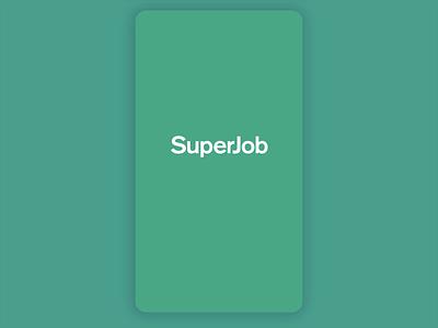 Superjob redesing ios superjob ui ux app