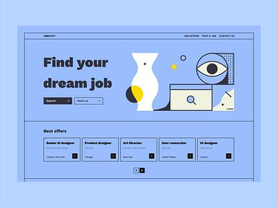 Have you found your dream job? minimal vector designer designjob joboffer website icons8 mock up branding motion graphics graphic design animation ui