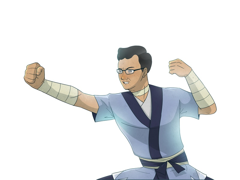 Water Bender water bender avatar aang illustration