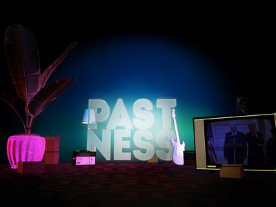 Artwork for PASTNESS album by Mungo Park 3d art artwork