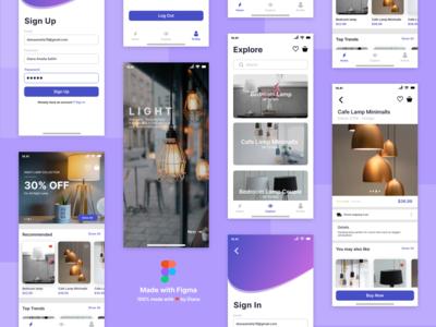 Light - Best Lamps Shopping App