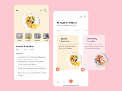 Recipe App - UI/UX Design