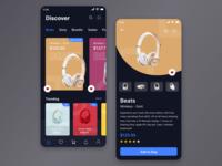Shopping Headphones App
