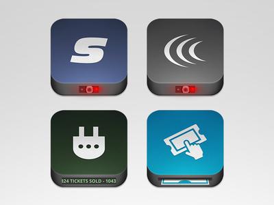 Ticketing App Icons