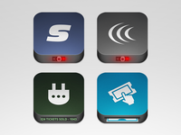 Ticketing App Icons