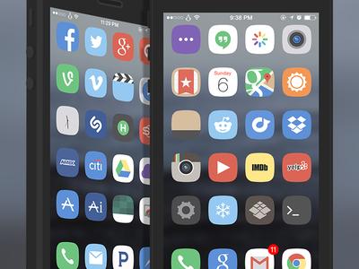 Minimal iOS Theme