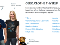 ThinkGeek Apparel Feature