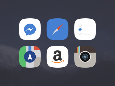 minimal.iOS.8 Preview flat ios8 app jailbreak minimal ios theme winterboard icons ui instagram amazon