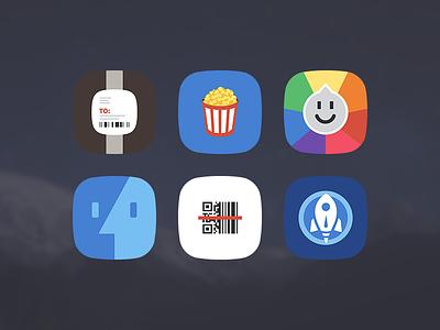More Free Winterboard Theme Icons ui flat minimal app ios winterboard jailbreak theme free icons trivia crack