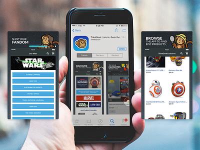 ThinkGeek X iTunes geek timmy thinkgeek app store screenshots itunes iphone ios